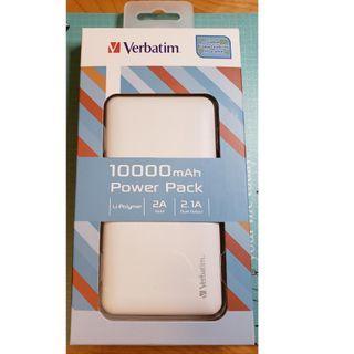 Verbatim 10000mAh Power Pack 流動充電器