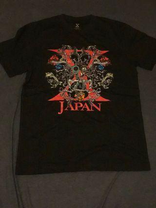 X JAPAN World Tour in Asia 2009 演唱會官方tee