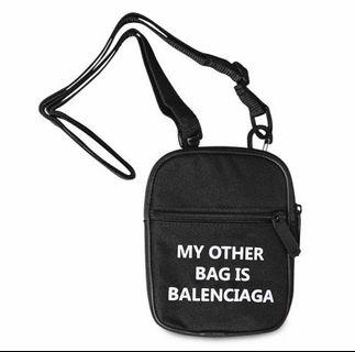 My Other Bag is Balenciaga Mini Sling Bag🖤🖤🖤🔥🔥🔥