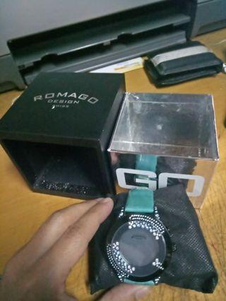 Jam tangan romago swiss