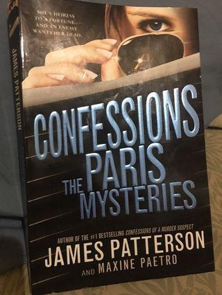 Confessions The Paris Mysteries (James Patterson)