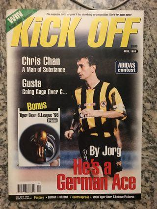 Kick-Off Singapore S-League 1998 preview magazine