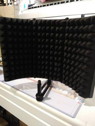 錄音 recording microphone reflexion filter 錄音隔音檔 隔音棉