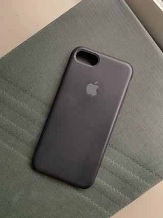 Case iPhone 7 / 8 Rubber Silicon Casing