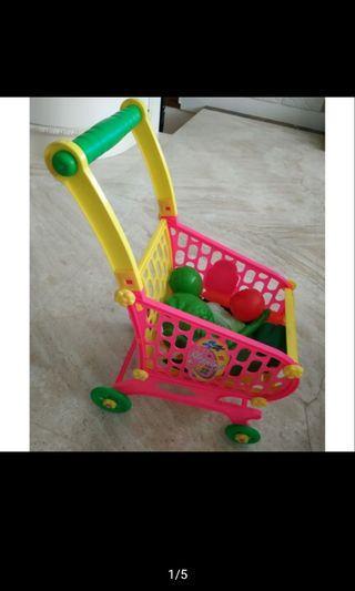 推車玩具 蔬菜類