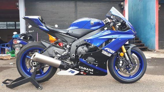 Yamaha R6 tahun 2018