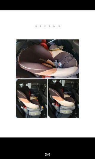 *自取* COMBI康貝幼童貝殼椅汽座3段式 0-4歲
