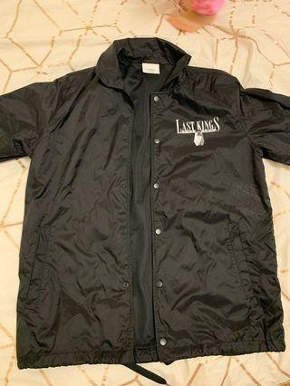 Lastkings black rain jacket