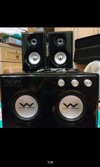 二手OZAKI WOW WR-580 喇叭