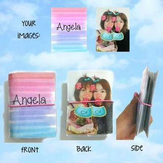 Mothers day gift Customized cardholder wallets