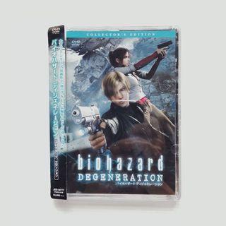 Bio Hazard Resident Evil Degeneration Collector's Edition DVD #EST50