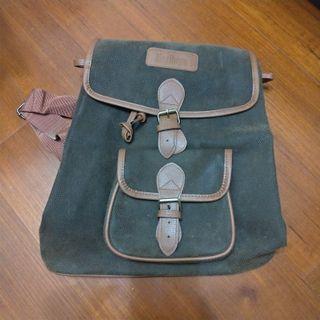 marboro咖啡色系束口型後背包