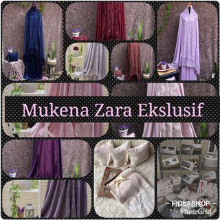 Mukena Zara Ekslusif High Quality AVAILABLE NOW!