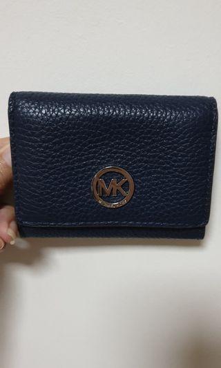 🚚 Michael Kors card holder wallet - Navy
