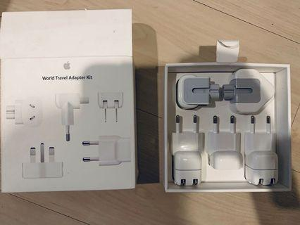 Travel adapters for MacBook charger