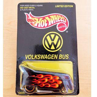 Hot Wheels VOLKSWAGEN BUS LIMITED EDITION RARE! SALE!