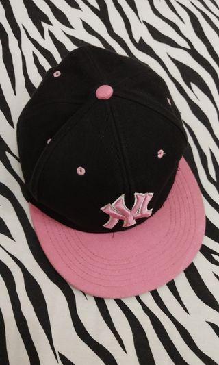 Snapback NY Black Pink