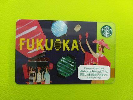 福岡Starbucks Card日本