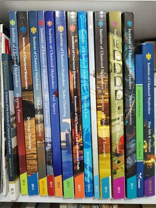 Institute of Chartered Shipbrokers Textbooks
