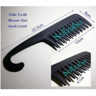 Detangle Bathroom Comb : After Shampoo Big Wide Tooth Hook For Long Hair Head Sellzabo Best Sellers