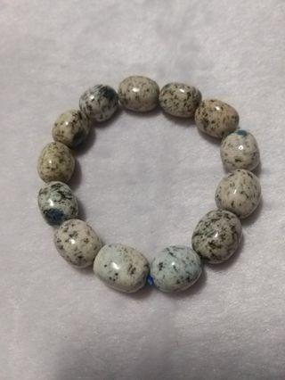 🚚 K2 blue水晶手珠 手飾 飾品 能量石