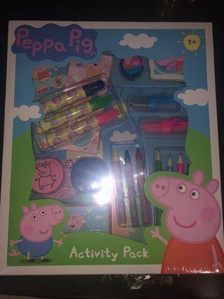 Peppa Pig activity pack #Endgameyourexcess