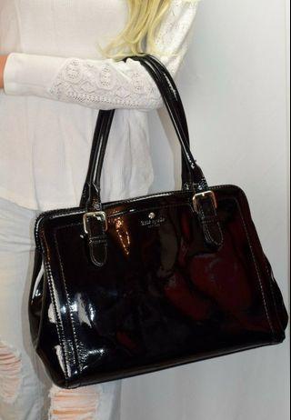 🚚 Kate Spade Carlisle street black leather handbag