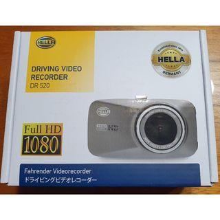 "ORIGINAL HELLA DR 520 Full HD 1080P 2.7"" LCD Display Car Driving Video Recorder Camera"