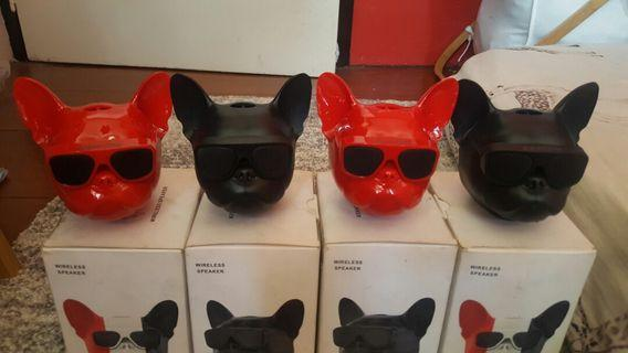 Portable Frenchies bluetooth speaker