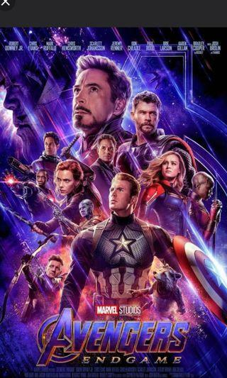 🚚 Avengers End Game - 24/4/19