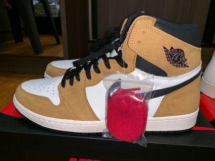 WTS BNWT NIKE AIR JORDAN 1 ROOKIE OF THE YEAR ROTY AUTHENTIC US13