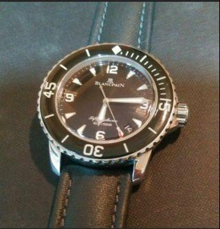 Blancpain Fifty Fathoms. Full local set from AD