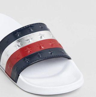Brand new Tommy Hilfiger slides size 8