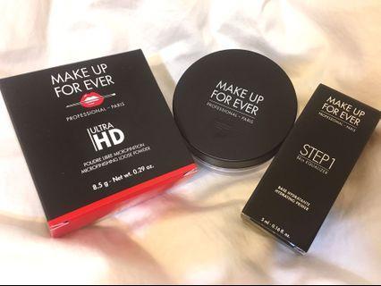 Make up for everHD微晶蜜粉8.5g setp1清爽保濕乳