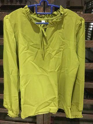 Yellow Blouse with tag