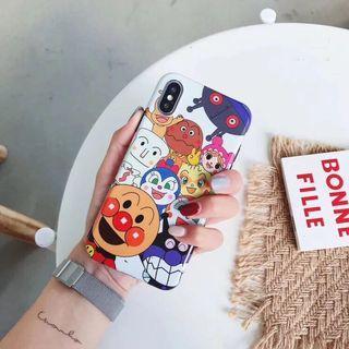 麵包超人家族光面軟殼 蘋果手機殼保護套