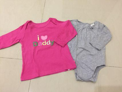 Baju bayi mothercare dan oshkosh