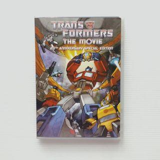 Transformers The Movie Animation 20th Anniversary Special Edition DVD #EST50