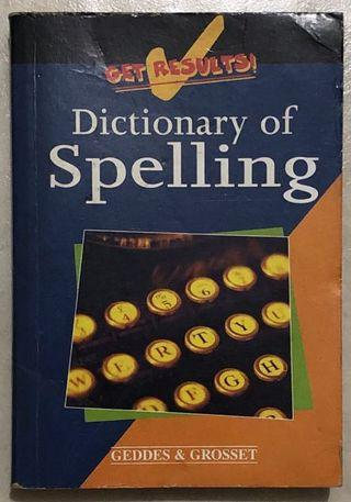 🚚 Dictionary of Spelling