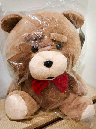 🚚 熊麻吉 蝴蝶結熊 坐姿 絨毛玩偶 娃娃 無辜熊 生日禮物領結熊