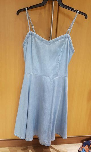 Light blue denim dress love bonito