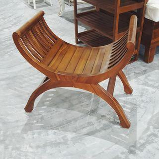 Wooden Teak Yuyu 1 Seater Chair