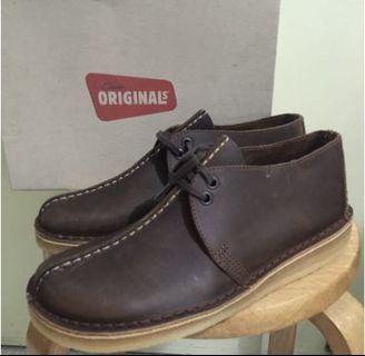 Clarks Original 啡色 鞋