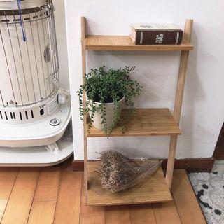簡單雜貨-三層梯形置物架/收納架/小花架