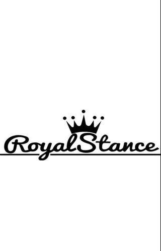 Royal Stance[Car Decal / Sticker Vinyl] (Free Mailing!)