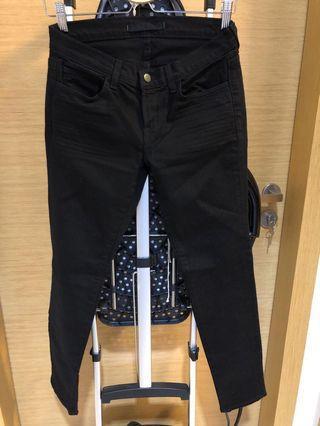J Brand Ladies Skinny Leg Black Jeans