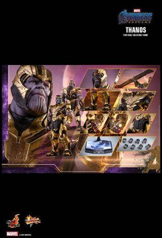 *PO* Hot Toys MMS529 1/6th scale Avengers: Endgame Thanos 41.5 cm tall Collectible Figure