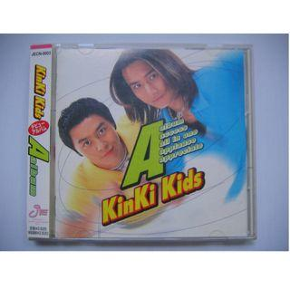 Kinki Kids - A Album CD (日本版) (附側紙) (堂本光一 / 堂本剛)