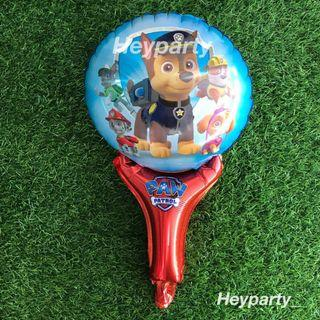 🚚 Goodie Bag- Paw Patrol Handheld Foil Balloon (Red)