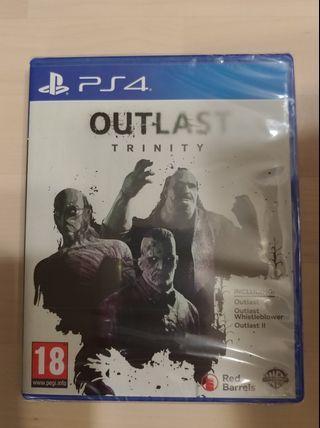 PS4 Outlast Trinity